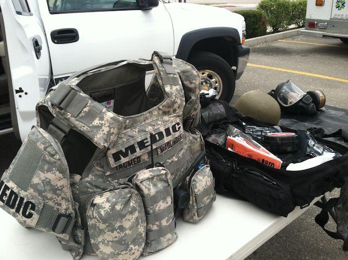 Ada County Paramedics Tactical Medical equipment