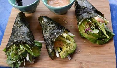 Better Than Burritos! Nori Sushi Rolls