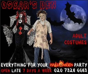 Fun project designing this Fancy Dress banner. Created to promote Halloween Fancy Dress costumes. Halloween banner / Fancy Dress banner size 300 x 250 Animated Banner Ads design.