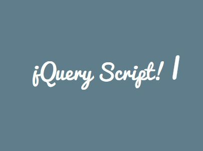 AddTyping is a simple yet customizable #jQuery plugin for creating text typing & deleting effects to simulate a #typewriter effect on the webpage.