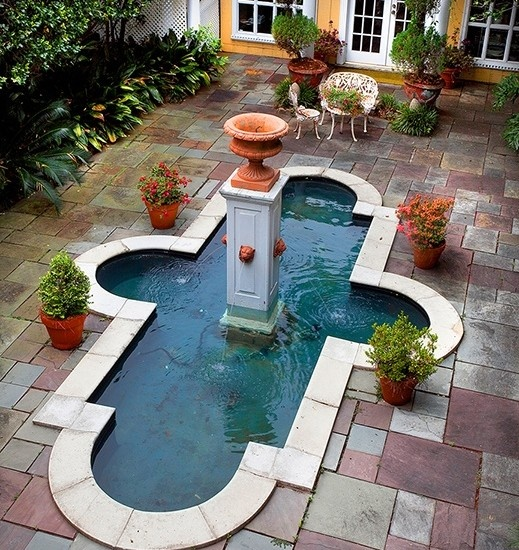 17 best images about backyard fountains and ponds on for Pool design new orleans
