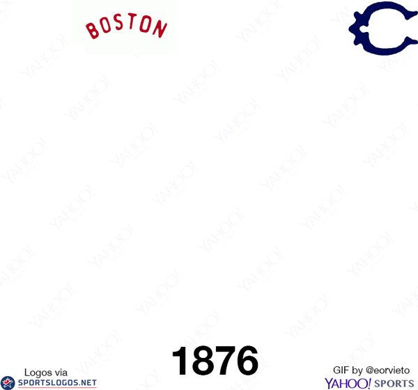Every MLB team's logo changes throughout history