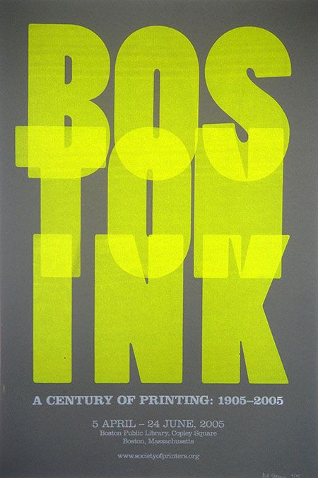 Boston Ink poster