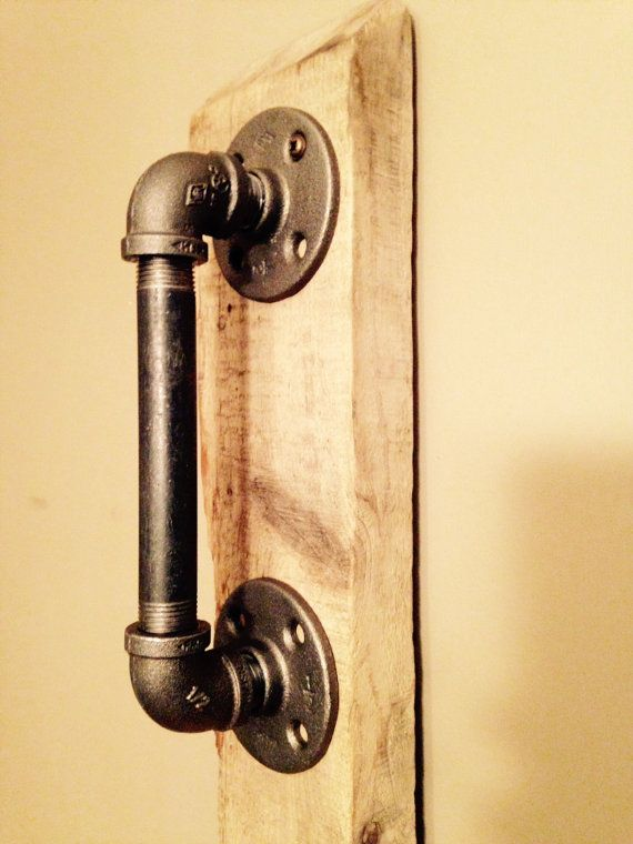 Industrial Pipe Door Handle By PipesandPlanks On Etsy