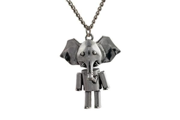 Never Forget Silver Necklace