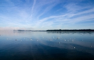 Chiemsee by Daniela W-T, via Flickr