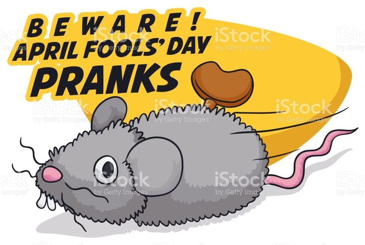Fake Mouse with Mainspring for Funny Pranks in Fools' Day