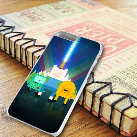 Adventure Time Finn Jake Beemo Bubblegum iPhone 6 Plus iPhone 6S Plus Case