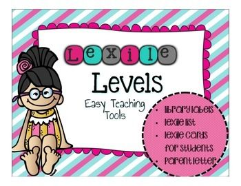 Are you looking for a way to organize your library by lexiles as you implement Common Core?Learn how to level your library by lexileThis resource includes:-Lexile Level List to help you level your books and place in your library-Lexile Library Labels-Lexile Cards for students-Parent note to relay student progressI hope your students love your leveled library as much as mine do!Mahalo,KristenEasy Teaching ToolsFollow me at the following sites for freebies and updates for all of my Sweet…