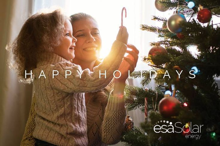 On behalf of everyone here at esaSolar happy holidays to you and your loved ones! We hope you have had a wonderful year! Our company is grateful for all of our valued customers including you who have helped make this a fantastic year!  . . . #solar #solarenergy #energy #solarpanels #sun #sunshine #sunset #sunrise #renewableenergy  #aesthetic #like4like #home #happyholidays #light #clean #cleanenergy #renewableenergy #florida #orlando #instagram #insta #instagood #instadaily #friday…