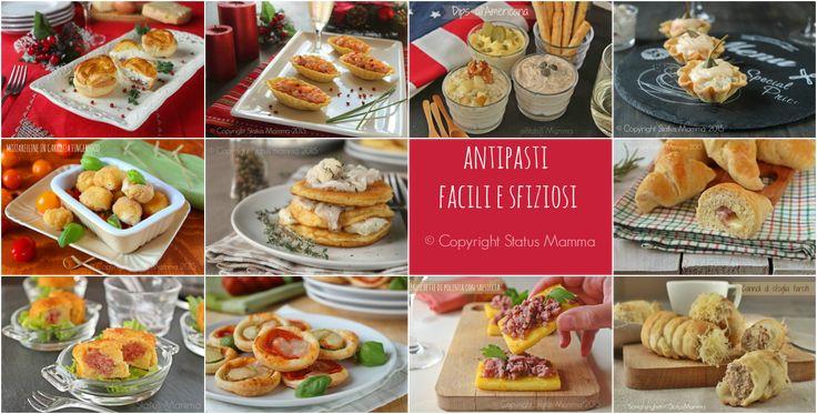 antipasti stuzzichini fingerfood facili e veloci da prepare per le occasioni speciali