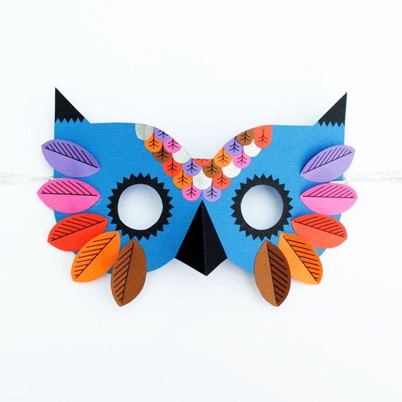 25 best ideas about owl mask on pinterest felt mask for Best craft kits for kids
