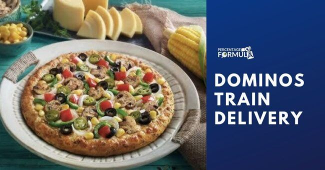 Dominos Train Delivery Get Tasty Dominos On Your Train In 2020 Good Pizza Domino S Pizza Delivering Pizza