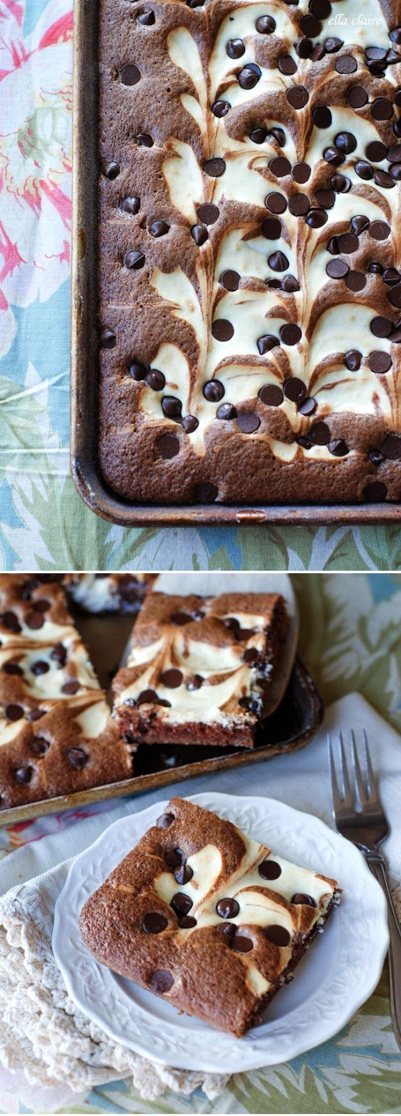 Marble Squares~ A Beautiful and Delicious Dessert