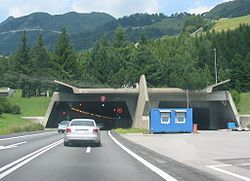 On Sept 5, 1980 the St. Gotthard Tunnel opens in Switzerland at 10.14 miles and would provide year-round road link between central Switzerland and Milan. It is  the third-longest road tunnel in the world after Norway's Lærdal Tunnel (24.5 km), and China's Zhongnanshan Tunnel (18 km).