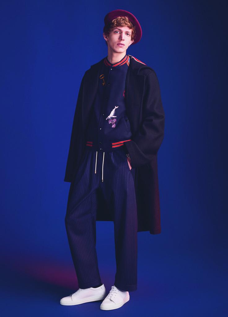 Xavier Buestel by Antoine Harinthe for Printemps Department store Paris | AH 2016