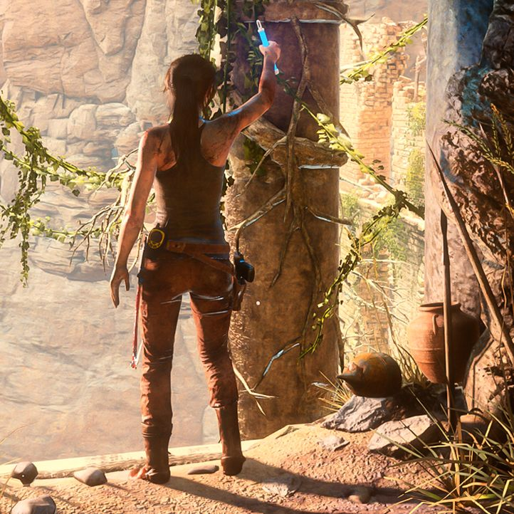 (*** http://BubbleCraze.org - New Android/iPhone game is taking the world by storm! ***)  Tomb Raider