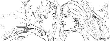 Resultado de imagem para casal romântico olhando para lua tumblr