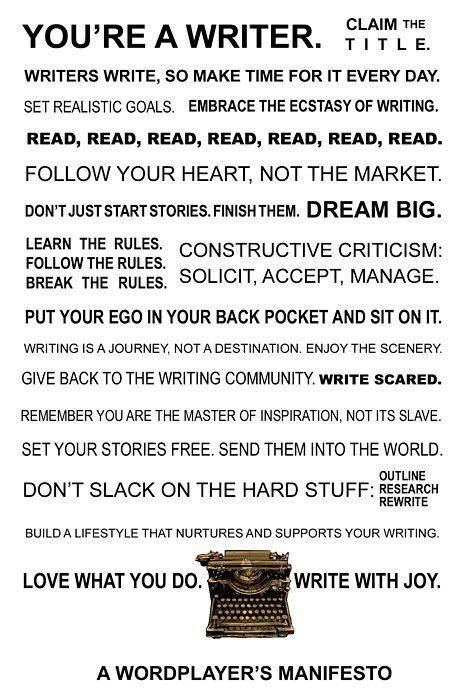 What is your thoughts on this advice for writing?