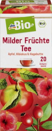 Milder Früchte Tee 20x2,5g