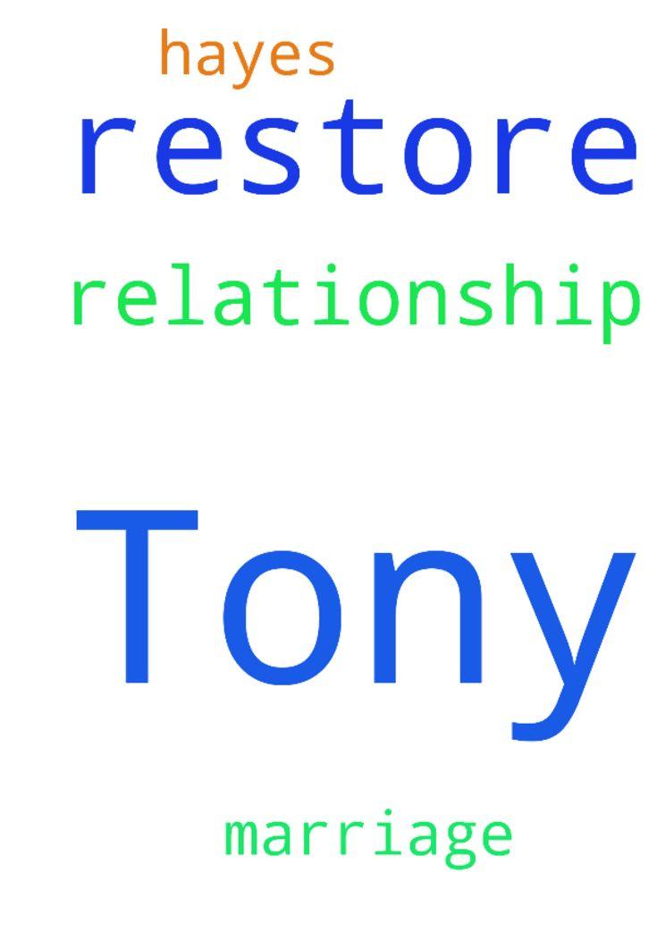prayer for restored relationship