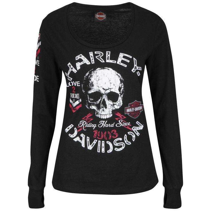 Harley-Davidson® | 5N11-H46T | Harley-Davidson® Womens Priceless Passion Skull