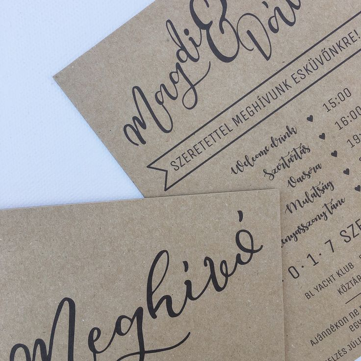 Custom wedding invitation design in minimal style, made by Zboznovits visuals.