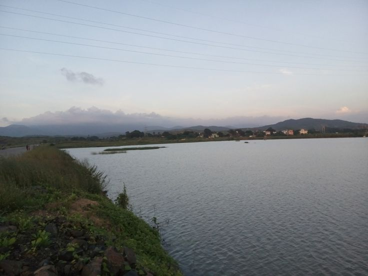 Vasai Salt Plains during Monsoon