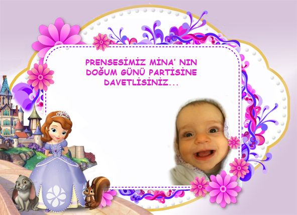 Prenses Sofia Davetiye, Prenses Sofia Temalı Doğum Günü Organizasyonu 1 yaş doğum günü, 2 yaş doğum günü, 3 yaş doğum günü, 4 yaş doğum günü, 5 yaş doğum günü, 6 yaş doğum günü, kız çocuğu doğum günü