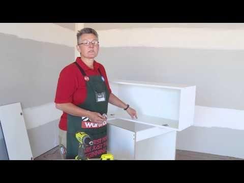 (48) How To Install Door Hinges & Gas Struts - DIY At Bunnings - YouTube
