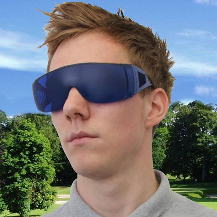 Golf Ball Finder Glasses | Never loose your golf balls again! | golfing blue | Yellow Octopus