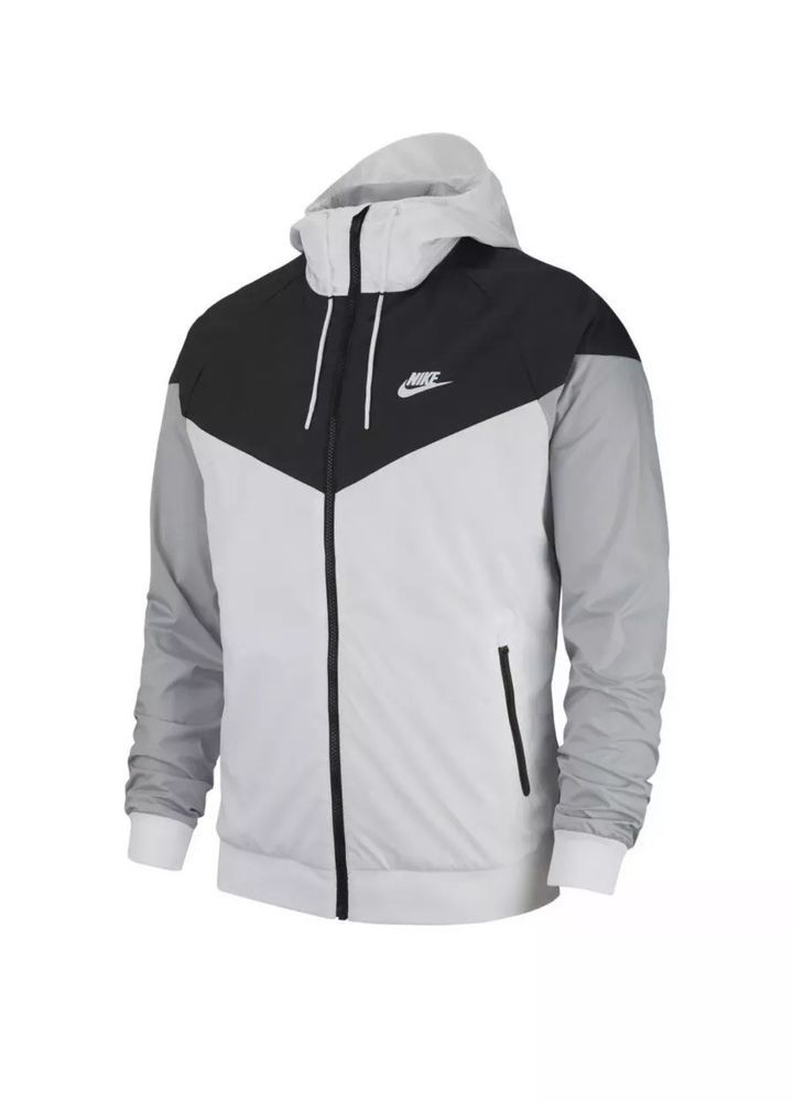 Nike Sportswear Windrunner Jacket Black   White Men s Size M 727324 101 Size  Med  Nike  Windbreaker 94cb40dba