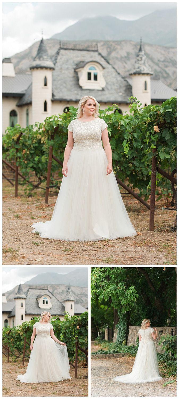 The Cosette, a modest plus size wedding dress by LatterDayBride and Prom | LDS Bride Blog | Gateway Bridal & Prom | Home of the LatterDayBride Collection | Salt Lake City | Utah Bridal Shop | Worldwide Shipping