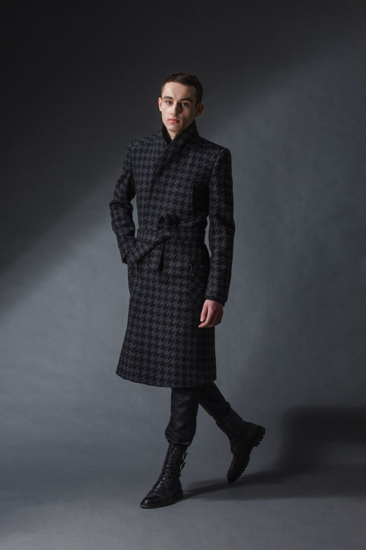 """emperor coat michal kozlowski   diploma collection """"debut""""   2014"""