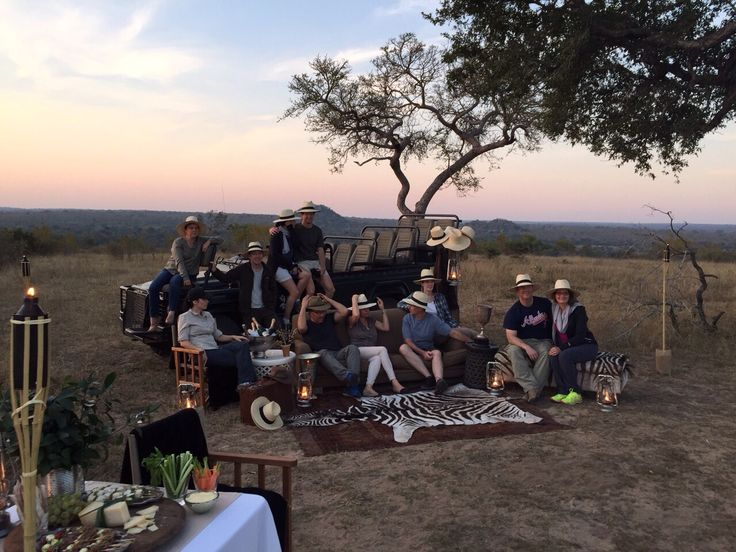 Here is our latest group from BCG enjoying Varty Camp, the symbolic heart and soul of the exquisite Londolozi. They look like they are having a…