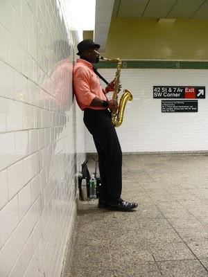New York Subway performer      ......rh