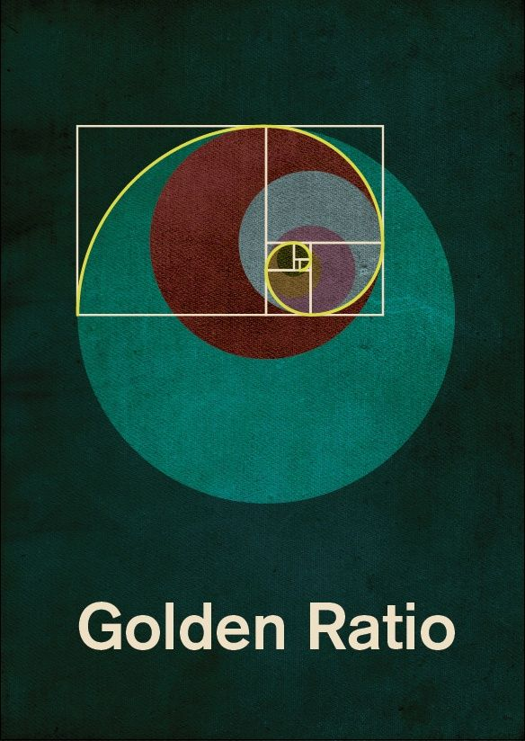 GOLDEN RATIO. A number found by dividing a line into two parts so that the longer part divided by the smaller part is also equal to the whole length divided by the longer part. Also found in nature.