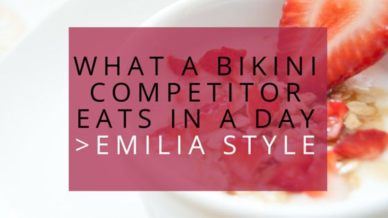 What a Bikini Competitor Eats in a Day :https://www.beyou2befit.com/what-a-bikini-competitor-eats-in-a-day/