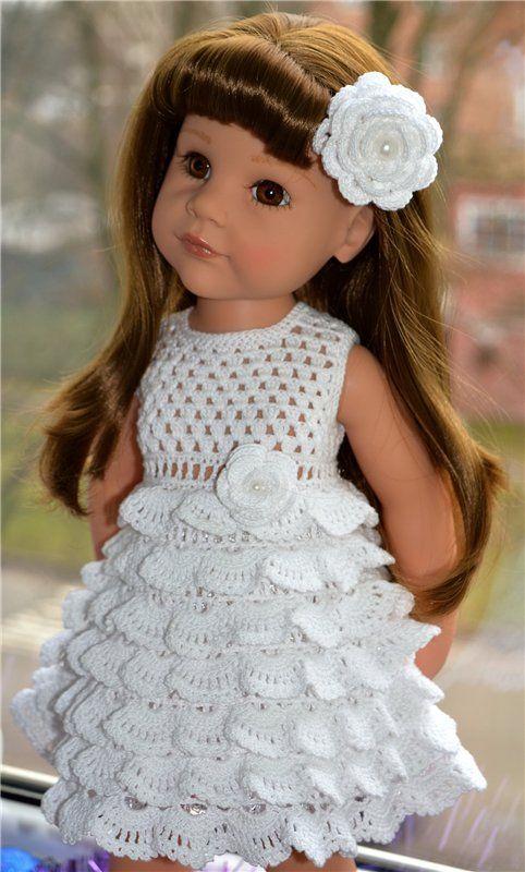 Платья и жакетик для кукол Готц высотой 50 см / Одежда для кукол / Шопик…