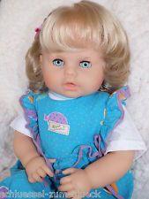 Zapf Puppe ☘☘  blond blaue Augen Spielpuppe ☘☘ Doll Poupee ☘☘ Sammlerpuppe