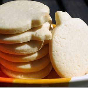 Pumpkin Spice Cut-Out Sugar Cookies