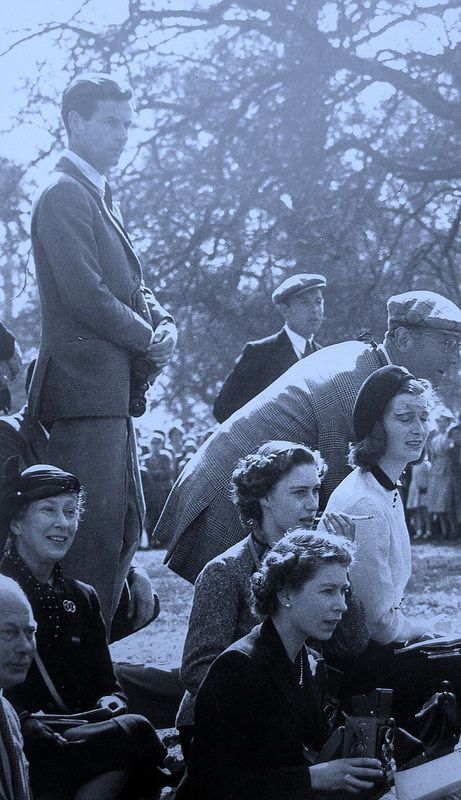 Royal Family at the Badminton Horse Trials ___