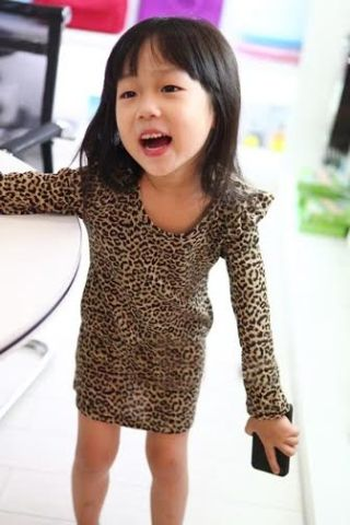 Buy Leopard Straight Dress • For girls who want to feel comfy while looking cool and stylish, this straight fit everggreen leopard print dress is the perfect outfit. It is made of soft cotton blends also keeps her warm.