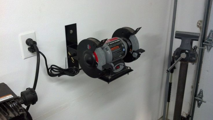Bench Grinder mount - The Garage Journal Board