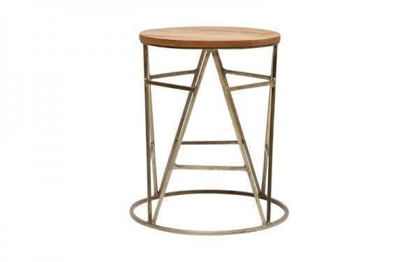 DUTCH SIDE TABLE BRASS   OZ Design Furniture & Homewares