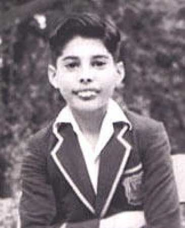Freddie Mercury In school uniform. He was teased and called 'Bucky' at school because of his teeth, but refused braces as a teen because he thought it would affect his voice. ~j