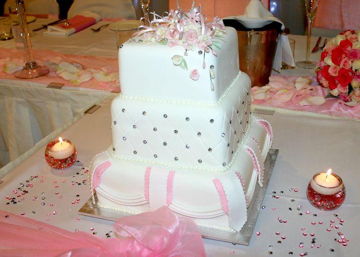 Liz n John wedding cake