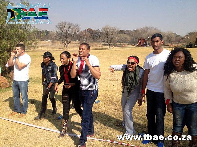 Shouting instructions #SAB #TeamBuilding