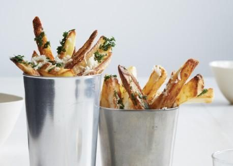 """Oven-Fried Truffle """"Chips"""""""