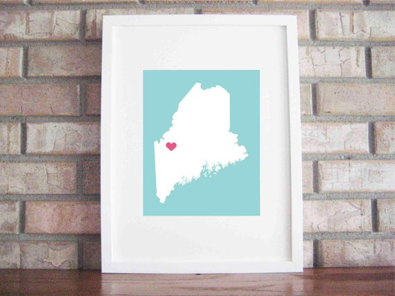 love this Maine print
